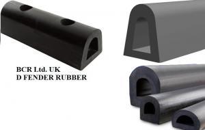RUBBER FENDER D SHAPE by BCR Ltd. UK now in DUBAI