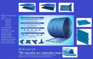 BCR PVC WATERSTOP RANGE, INTERSECTIONS & SIZES