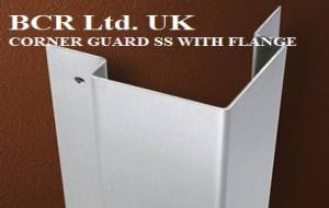 BCR SS CORNER GUARD WITH FLANGE