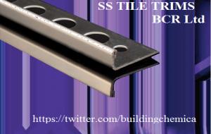SS L SHAPE TILE TRIM by BCR