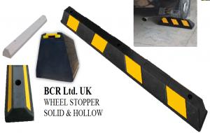 BCR RUBBER WHEEL STOPPER RANGE