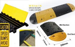 BCR RUBBER SPEED HUMPS RANGE