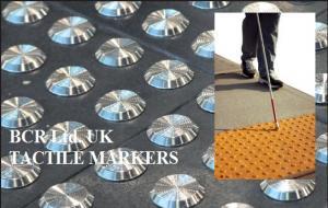 TACTILE INDICATORS RANGE by BCR Ltd. UK