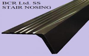 BCR STAIR NOSING STAINLESS STEEL HD