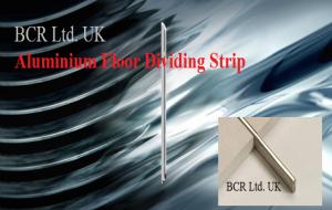 BCR ALUMINIUM DIVIDER ANODISED / BCR FLOOR DIVIDING STRIP