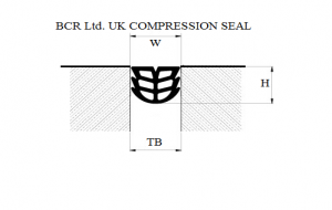 BCR COMPRESSION SEAL