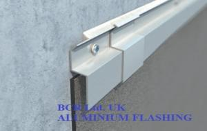 BCR ALUMINIUM FLASHING FOR WATERPROOFING TERMINATION