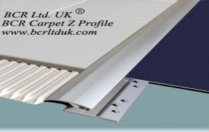 BCR Carpet trim Z edging metal profile