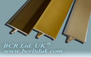 BCR Carpet trim T edging metal profile
