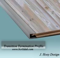 BCR Carpentry trim /Edging Profile for wooden MDF finish
