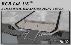 SEISMIC EXPANSION JOINT COVERS TRAY TYPE by BCR Ltd. UK