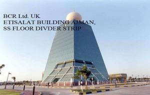 BCR Ltd. UK PROJECT REFERENCE ETISALAT BUILDING AJMAN, SS FLOOR DIVDER STRIP