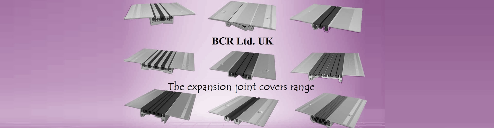 BCR Expansion Joint Cover Range