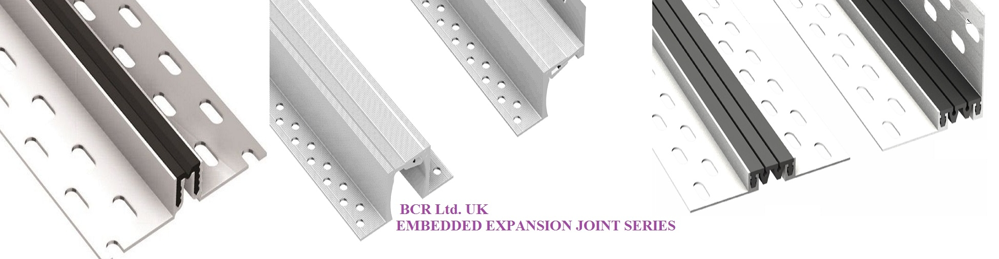 BCR EMBEDDED EXPANSION JOINT SERIES
