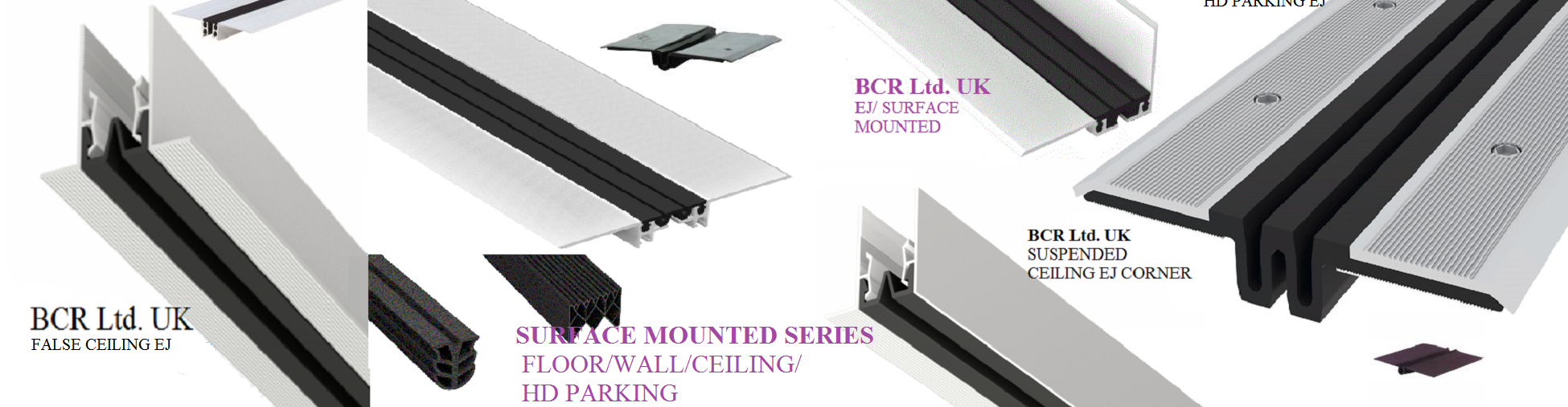 BCR SURFACE MOUNTED EXPANSION JOINTS